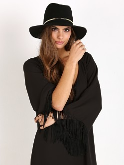 Janessa Leone Stephen Hat Black
