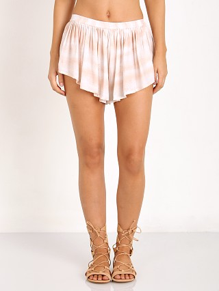 Indah Bee Pleat Short Blush Snake