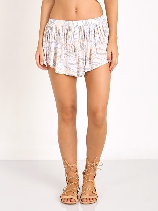 Indah Bee Pleat Short Peach Ibex