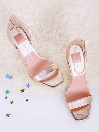 Dolce Vita Halo Heel Rose Gold