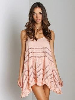 Free People Voile Trapeze Blush Combo