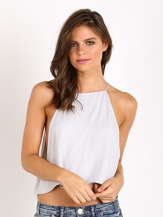 Indah Salt Sheen Crop Cami Grey