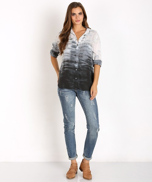Bella Dahl Perfect Shirt Phantom Grey