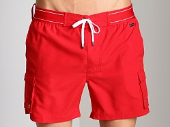 2xist Camper Swim Shorts Salsa Red