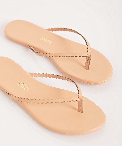 Tkees Scalloped Sandals Sophie