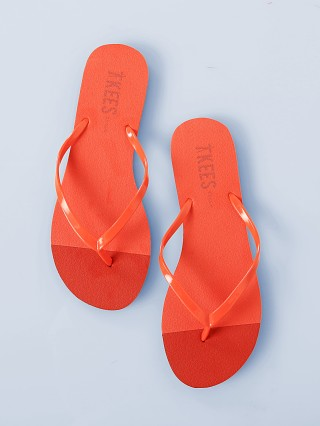 Tkees Beach Flip Flops Ruby Reef
