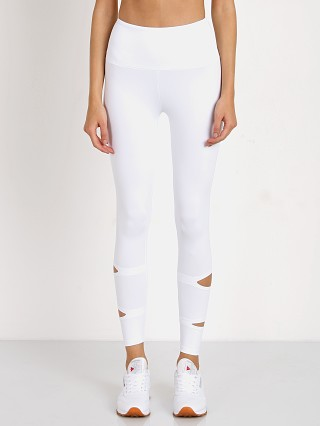 Lanston Sport Griffith Slit Legging White