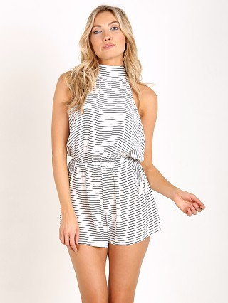 Faithfull the Brand Louis Playsuit Sea Salt Print
