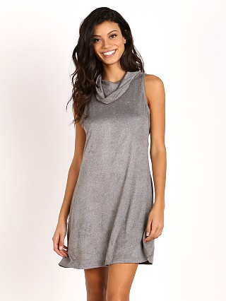 MinkPink Urban Escape Roll Neck Dress Grey Marle