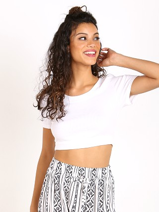 You may also like: MinkPink Free Fallin Crop Tee White