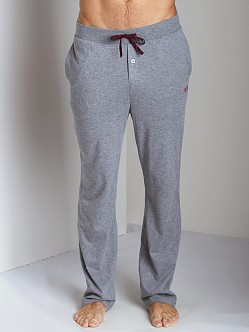 Hugo Boss Cotton Pyjama Pants Grey