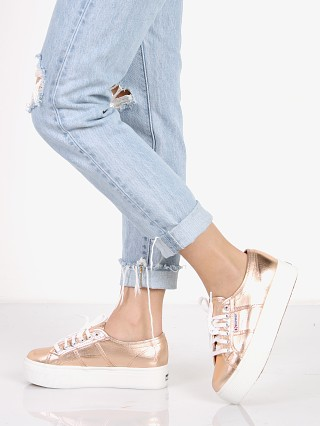 Superga Platform Sneaker Rose Gold