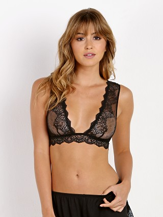 Only Hearts Tank Bralette Black