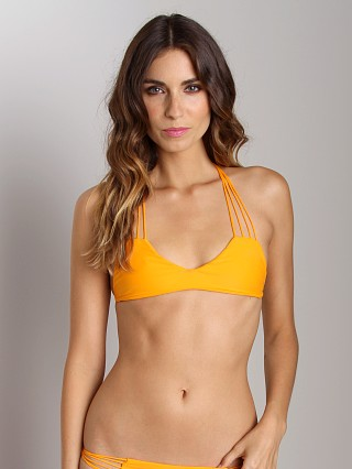 Complete the look: Mikoh Banyans String Racerback Bikini Top Ginger
