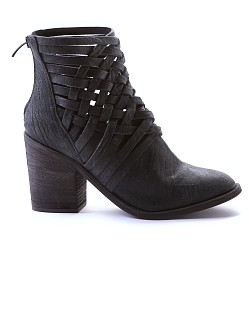 Free People Carrera Heel Boot Black