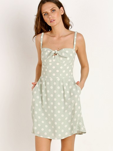 Capulet Gabby Mini Dress Polka Dot