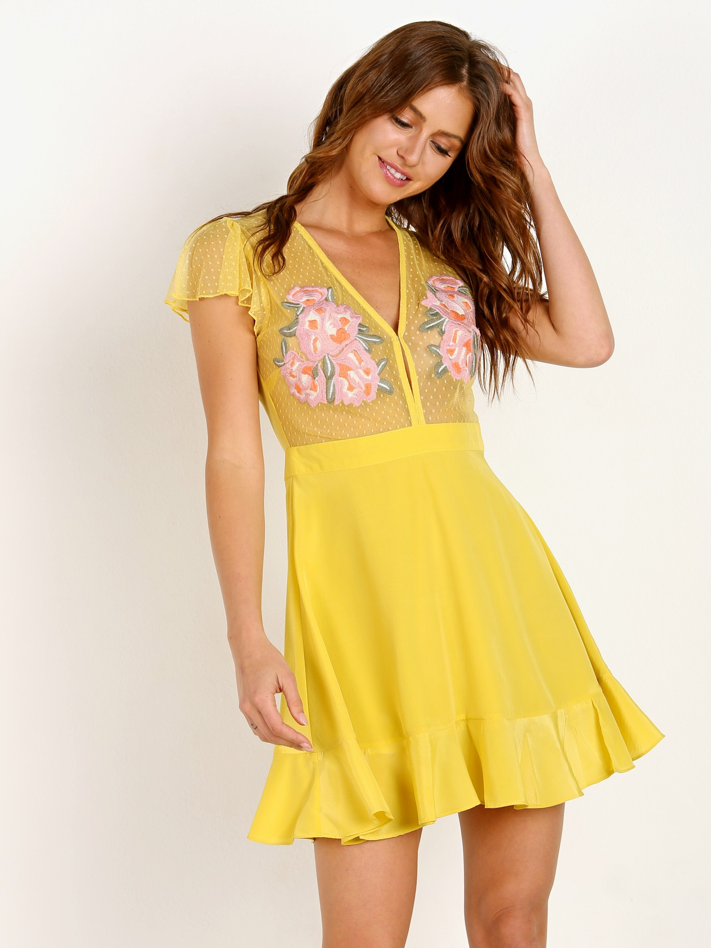 64b2980ee6 Cleobella Cooper Dress Chartreuse CRCSP1823 - Free Shipping at Largo Drive