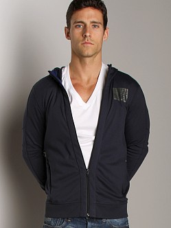 G-Star Fuel Hooded Cardigan Naval Blue