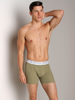G-Star Major Stripe Boxer Wild Olive