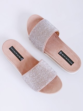 You may also like: Steve Madden Saunders-R Rhinestone Slides Blush