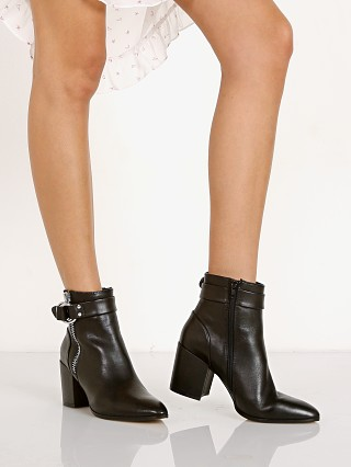 Steve Madden Johannah Black Leather