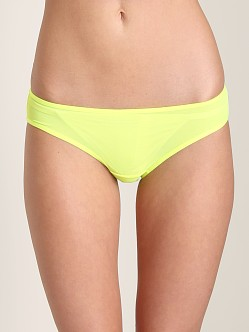 Splendid Intimates Ruched Bikini Yellow