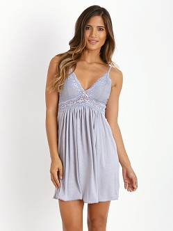 Eberjey Colette Chemise Blue Shadow