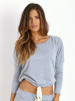 Eberjey Heather Slouchy Tee Blue Shadow