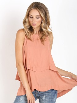 Free People Layers In Love Tunic Dark Apricot