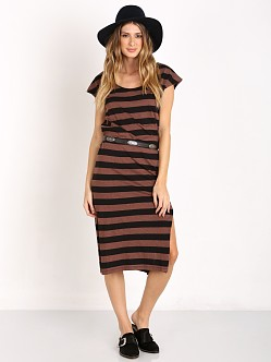 Amuse Society Meteor Dress Mocha Heather