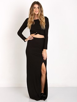 Amuse Society Farron Skirt Black Sands