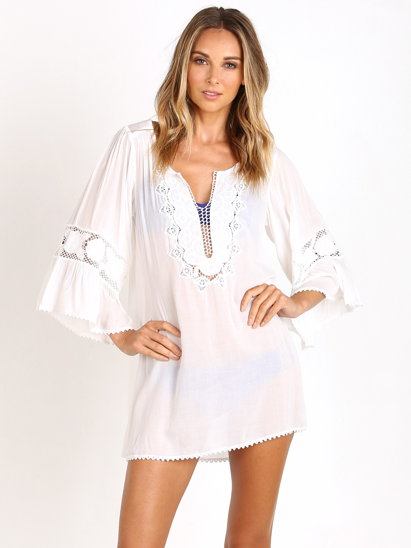 deee788bfd72 L Space Breakaway Cover Up Ivory BRECV16 - Free Shipping at Largo Drive
