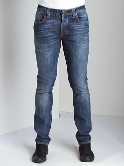 Nudie Jeans Grim Tim Org Crushed Denim