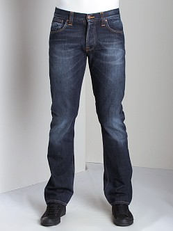 Nudie Jeans Average Joe Org Contrast Indigo