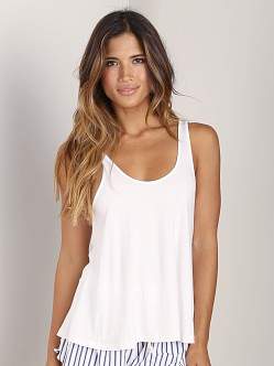 Splendid Drapey Tank Bright White