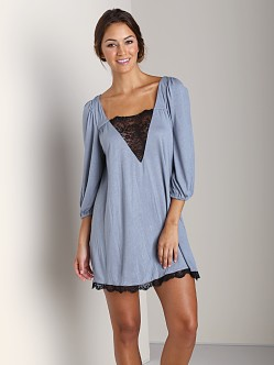 Eberjey Esther Tunic Wedgewood Blue