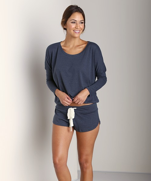 Eberjey Heather Short Coal Heather