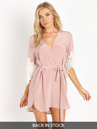 Stone Cold Fox Fox Robe Dusty Rose