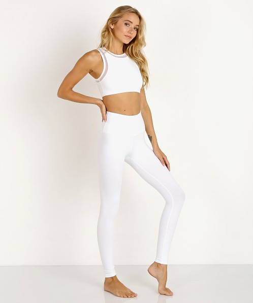 6411be7672 Beyond Yoga High Waisted Midi Legging White SP3243 - Free Shipping at Largo  Drive