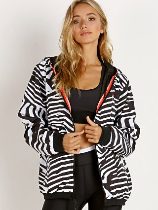 PE NATION The Steeple Chase Reversible Jacket Black