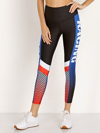 Model in multi PE NATION Speed To Spare Legging