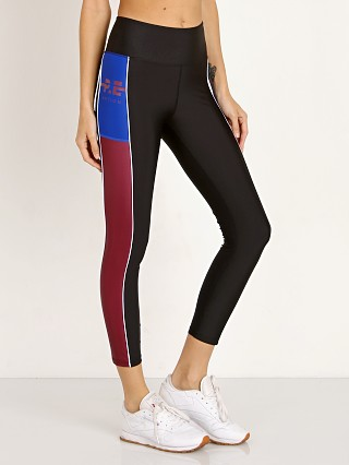 PE NATION Without Limits Legging Black/Maroon