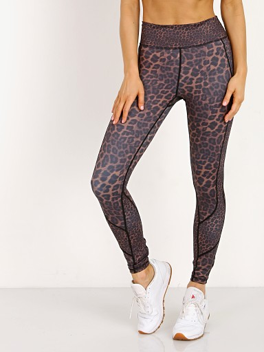 Vie Active Whitney 7/8 Legging Bronze Leopard