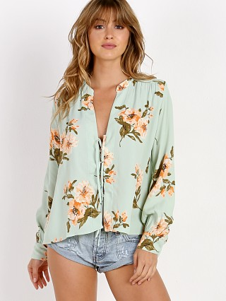 Flynn Skye Get Away Blouse Mint Gatherings