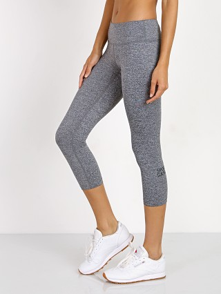 Spiritual Gangster SG Power Crop Legging Heather Grey