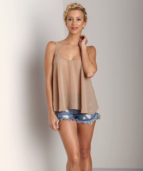 Show Me Your Mumu Sarah Swing Tank Sandcastle