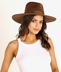 Lack of Color Coco Rancher Hat Dark Brown, view 1
