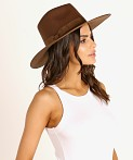 Lack of Color Coco Rancher Hat Dark Brown, view 2