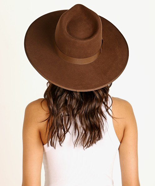 Lack of Color Coco Rancher Hat Dark Brown