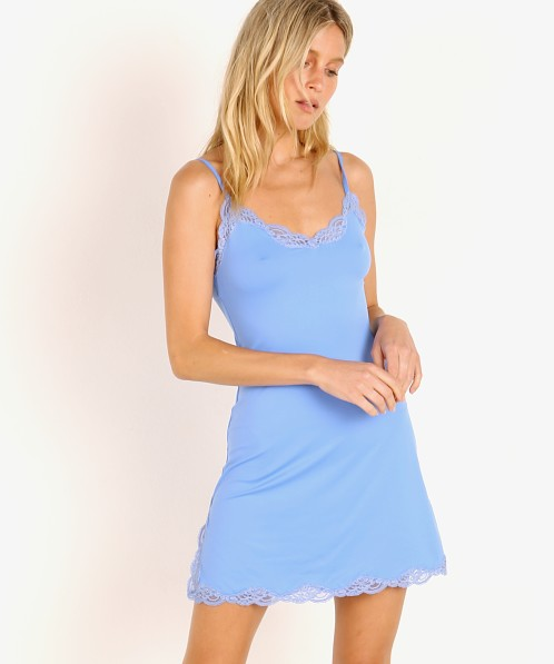 Only Hearts Delicious with Lace Chemise Divine Blue